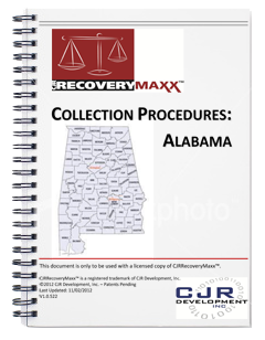 recoverymaxx state collection procedure manuals